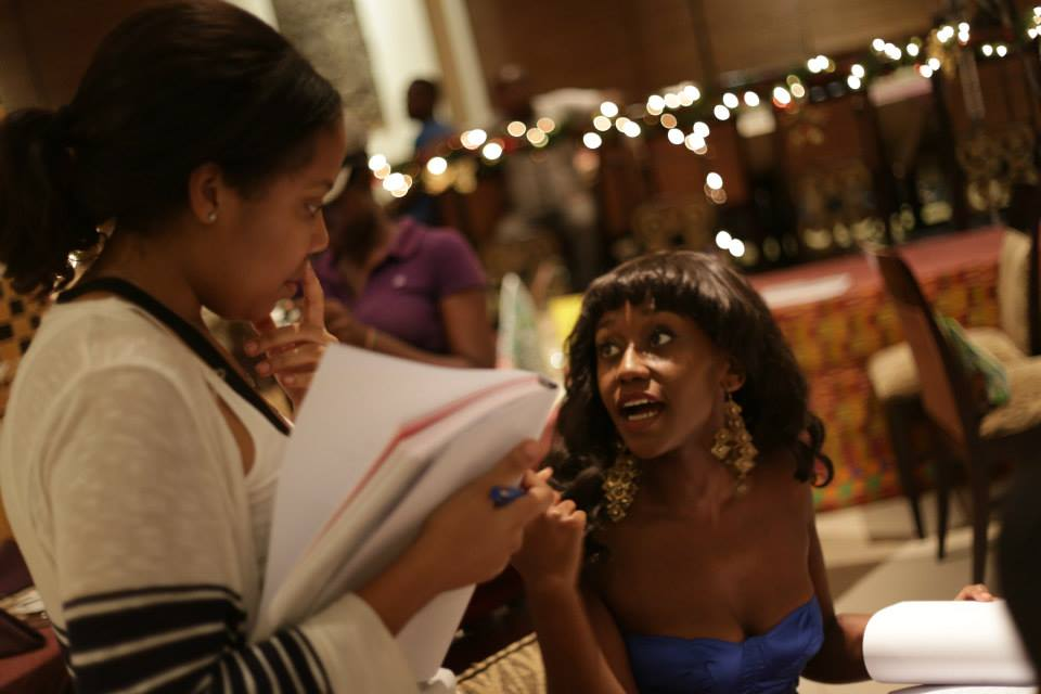 (L-R): An African City Creator Nicole Amartefio & Actress Nana Mensah / Credit: An African City