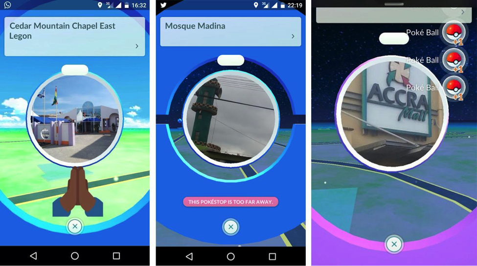 Pokémon Go is the latest technology craze in Ghana, Kenya and South Africa